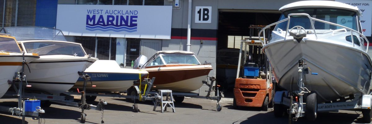 Servicing Outboard Motors - West Auckland Marine Auckland