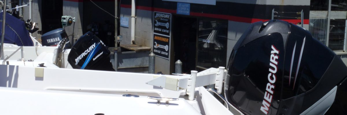 West Auckland Marine servicing new and second hand outboard motors