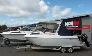 Boats and outboards serviced by West Auckland Marine